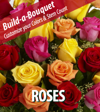 Build a Bouquet - Roses