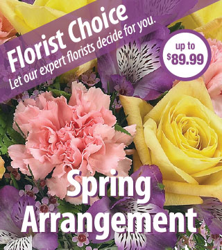 Florist Choice - Spring Deluxe From  $90