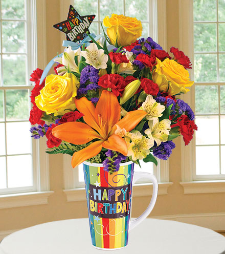 Birthday Spectacular Bouquet