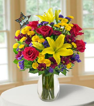 Birthday Blast Bouquet From  $80