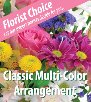 Florist Choice - Multi-Color - Deluxe - Greater
