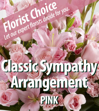 Florist Choice - Sympathy Pink