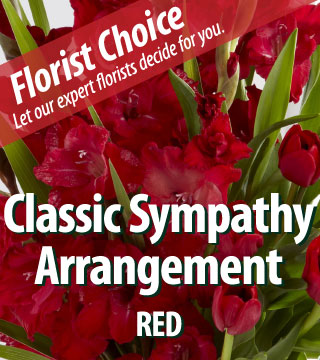 Florist Choice - Sympathy Red