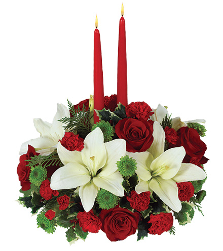 Holiday Floral Centerpiece - Greater