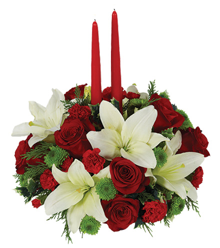 Holiday Floral Centerpiece - Greatest