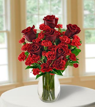 Red Hot Romance Bouquet