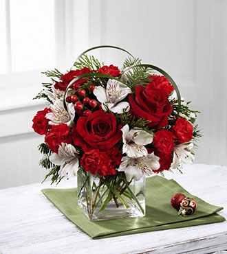The FTD® Holiday Hopes™ Bouquet From  $70