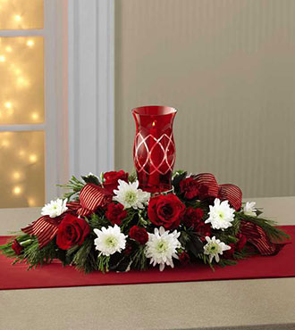 The FTD® Celebrate the Season™ Centerpiece From  $80