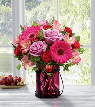 FTD® Pink Exuberance™ Bouquet From  $70