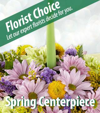 Florist Choice - Spring Centerpiece