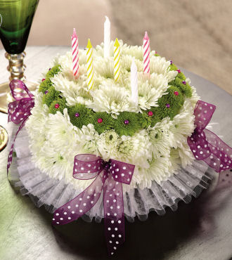 Birthday Cake Wishes Bouquet