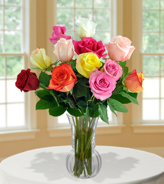 12 Delightful Rose Bouquet