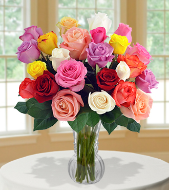 24 Delightful Rose Bouquet