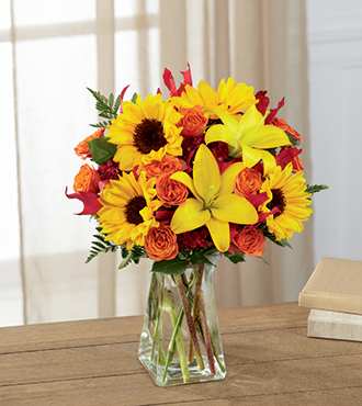 The FTD® Harvest Heartstrings™ Bouquet From  $70