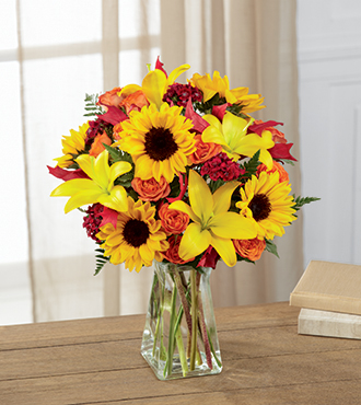 The FTD® Harvest Heartstrings™ Bouquet - Greater