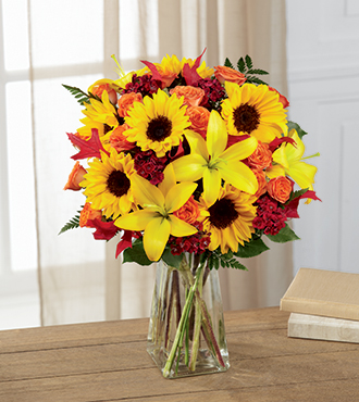 The FTD® Harvest Heartstrings™ Bouquet - Greatest