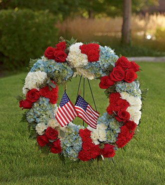 FTD® To Honor One's Country™ Wreath