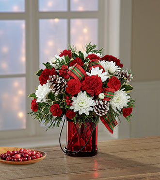 FTD® Holiday Wishes™ Bouquet by Better Homes and Gardens®
