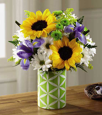 FTD®  Sunflower Sweetness™ Bouquet
