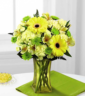 FTD® Lemon Groove™ Bouquet