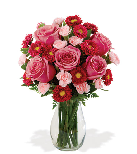 Blooming Heart Bouquet From  $75