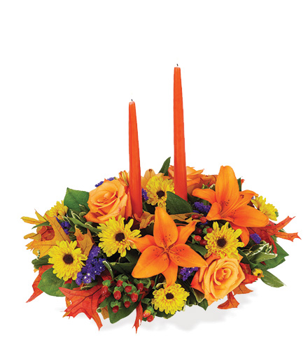 Fall Wishes Centerpiece