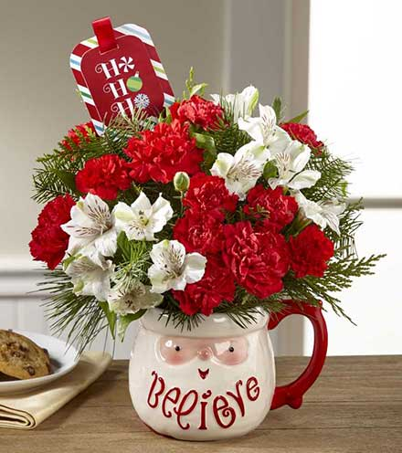 FTD® Believe™ Mug Bouquet by Hallmark