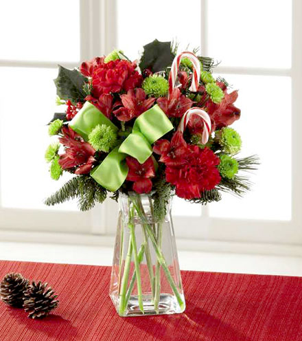 FTD® Candy Cane Lane® Bouquet
