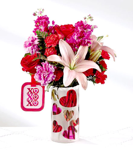 FTD® Love You XO™ Bouquet by Hallmark