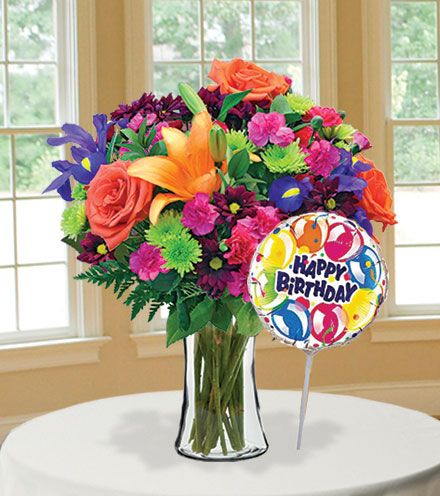 Vibrant Garden Birthday Special