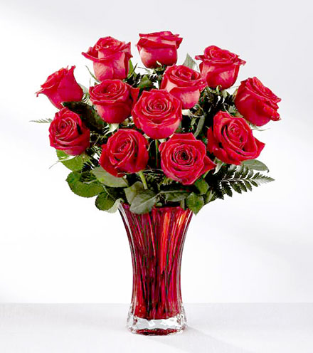 FTD® In Love With Red Roses™ Bouquet