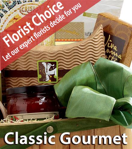 Florist Choice Classic Gourmet Basket