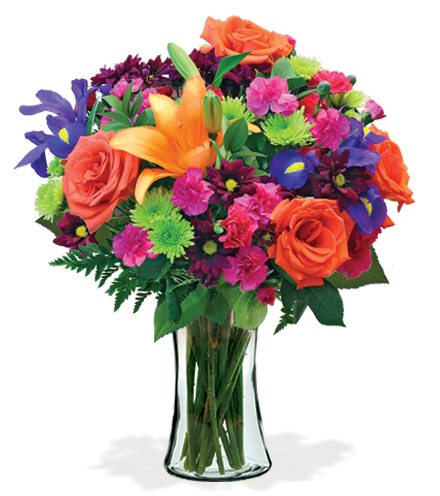 Vibrant Mom Bouquet