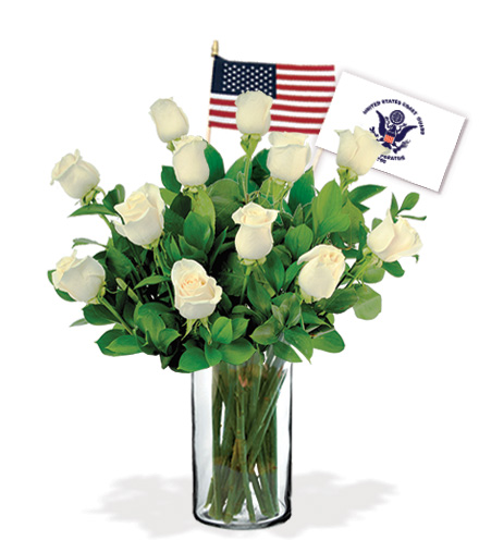 12 White Roses - Coast Guard