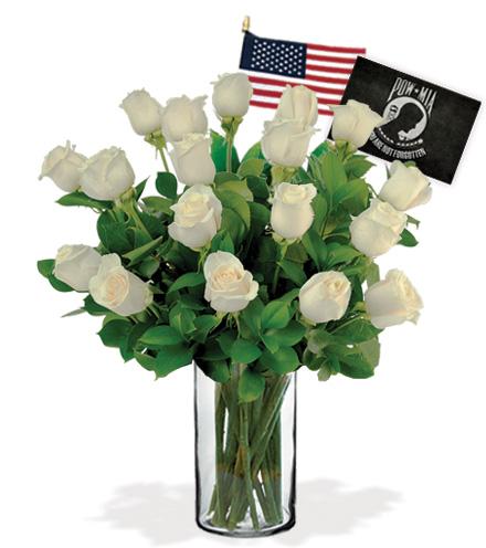 18 White Roses - POW