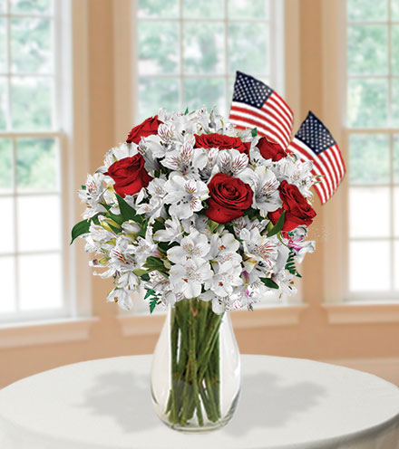 Red, White & You with USA Flag