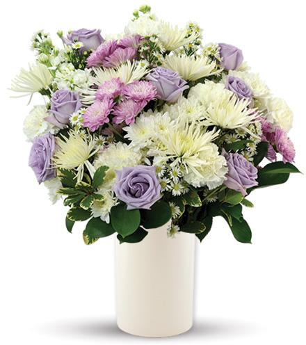 Treasured Moments - Lavender & White