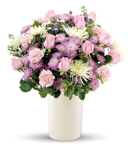 Treasured Moments - Pink, Lavender & White