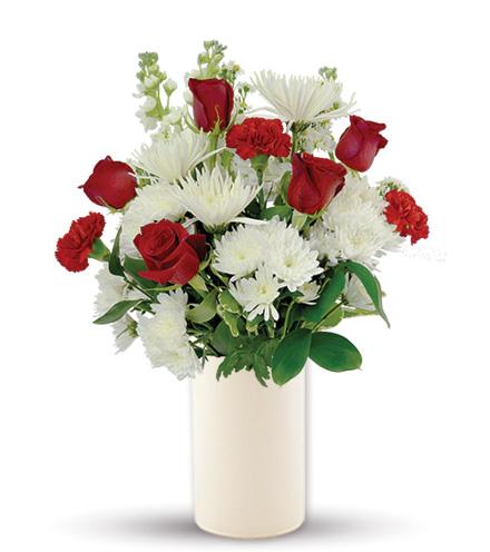 Treasured Love Red & White