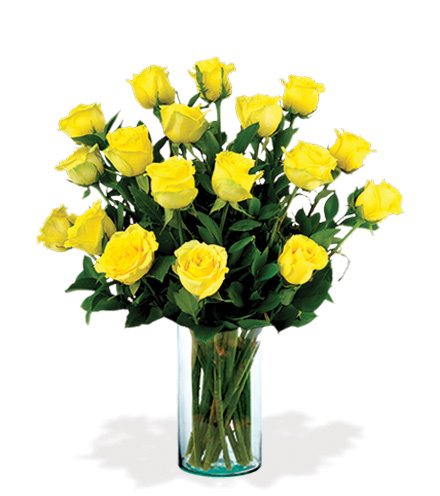 18 Artisan Roses - Yellow
