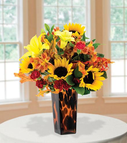 Harvest Happiness with Decorative Vase