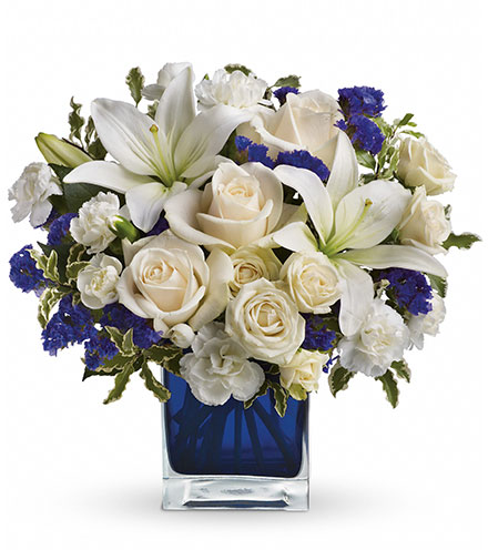 Sapphire Skies Bouquet From  $70