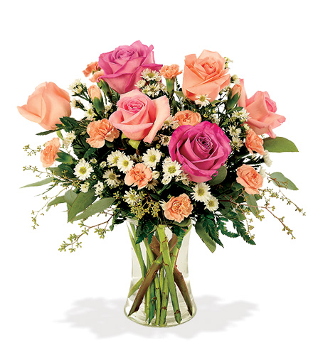 Enchanted Rose Garden Bouquet From  $75