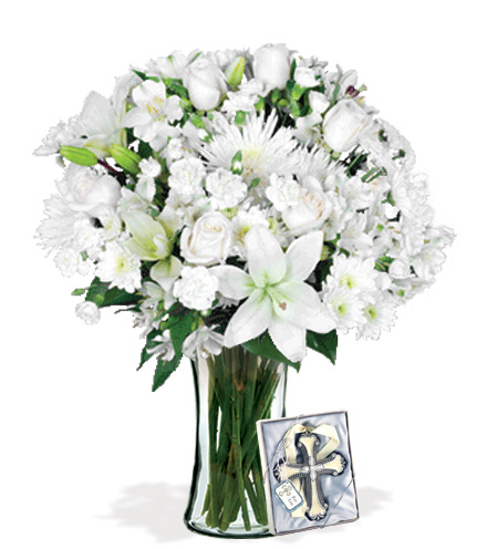 Eternal Blessings with Cross Ornament