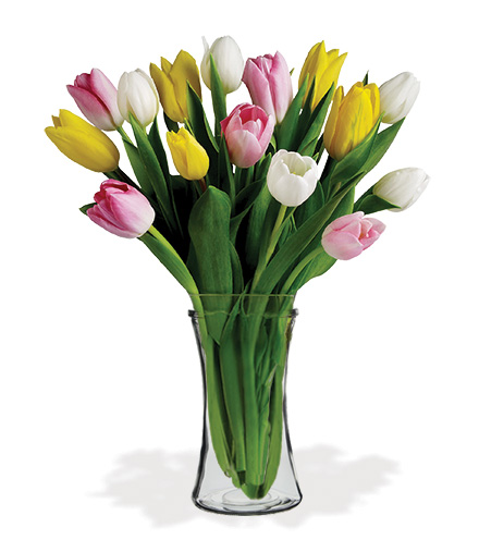Tulip Treasure Bouquet From  $75