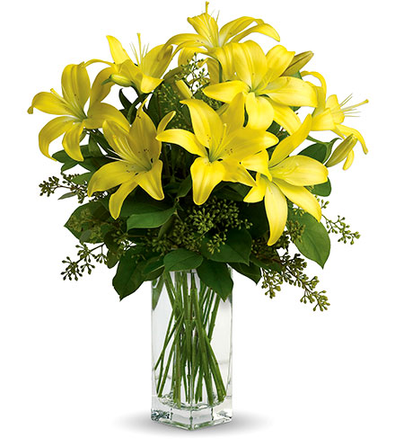 Lily Sunshine Bouquet From  $80