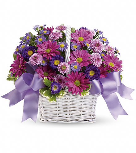 Daisy Daydreams Basket