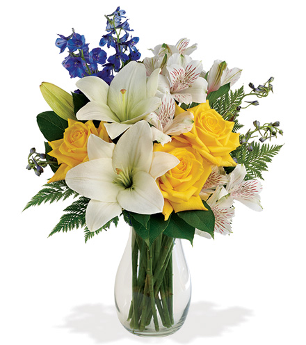 Oceanside Garden Bouquet From  $70