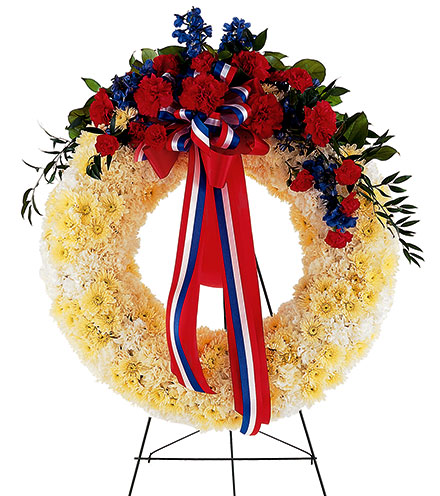 Patriotic Spirit Wreath