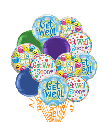 Simply 12 - Get Well Balloons